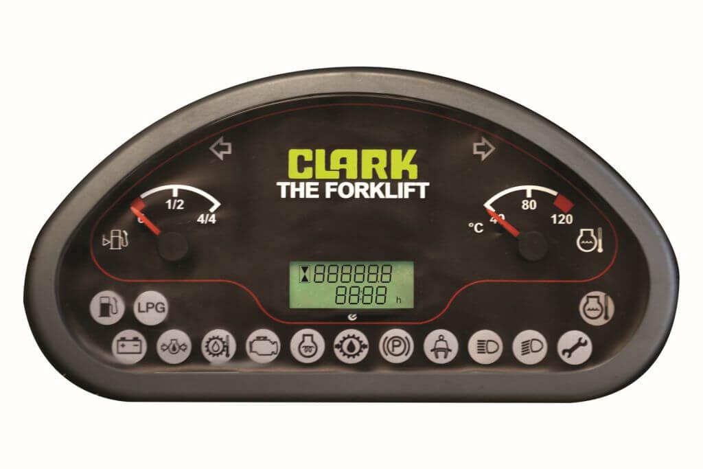 Clark GTS20-33 Forklift Display