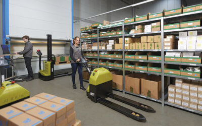 Benefits of Owning a Clark Electric Pallet Jack